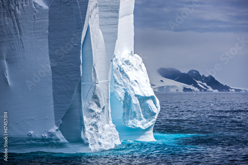 Foto op Canvas Poolcirkel Antarctic Iceberg