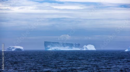 Aluminium Poolcirkel Iceberg in Antarctica Landscape-3