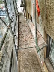 Gerüst Gerüstbelag Fassade