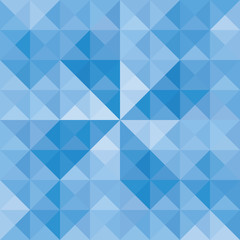 Blue triangle background10