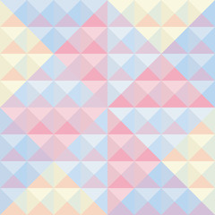 Colorful triangle background12