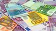 Leinwanddruck Bild - Papiergeld