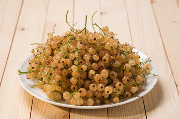 Ripe white currant