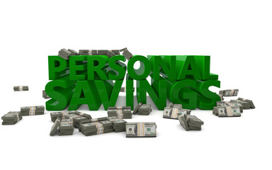 Personal Savings Money Bank Account