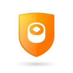 Shield icon with a maki