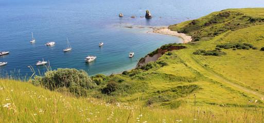 panorama Mupe Bay, Dorset