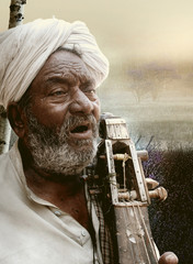 Indian Folk Singer