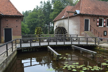 watermolen in Nederland