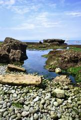 Küste in der Normandie