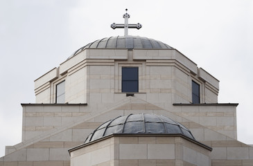 Modern Orthodox church dome.