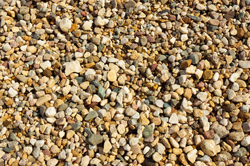 background from gravel stones
