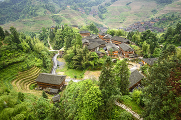 Village in Guilin, China
