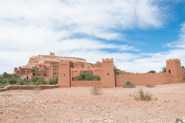 traditional castle in morocco