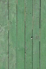 Green wooden boards as background