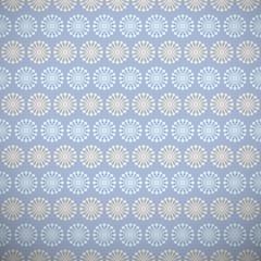 Yoga vector pattern (tiling). Light blue and beige colors