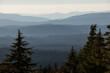 Mountain Ridges of Crater Lake National Park
