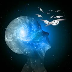 Galaxy mind time flies