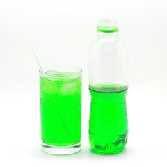 green soft drink