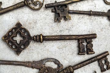 Retro key - business security