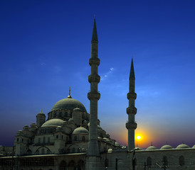 Arabian Sunset mosque