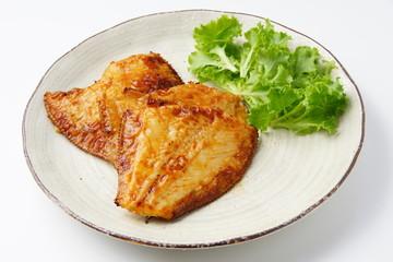 鰈の焼き魚