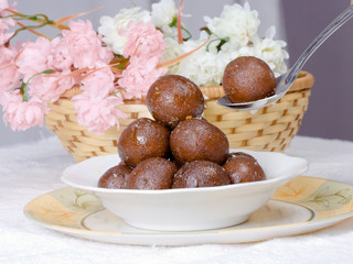 Indian sweet Gulab Jamun