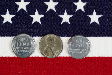 United States World War II Steel Cents