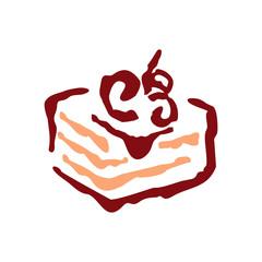 Sweet shop funny cake sign