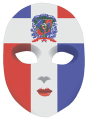 Dominican Republic mask