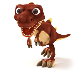 Dinosaurus looking mad