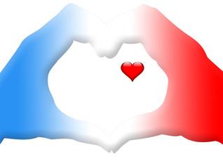 mains forme coeur d'amour
