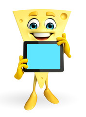 Cheese Character with tab
