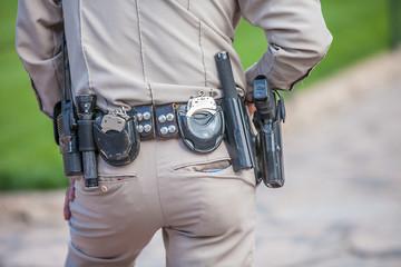 Polizist in USA