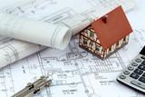 Bauplan für ein Haus - 67474253
