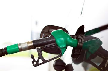 Zapfhahn für Benzin einer Tankstelle