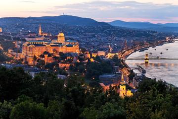 Ungarn, Budapest, Stadtansicht