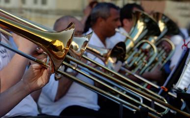 trombone and music