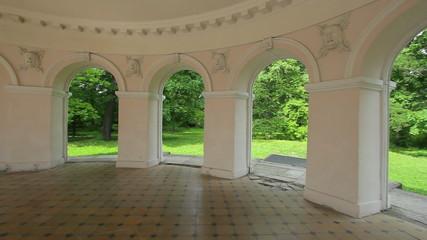 Music pavilion inside