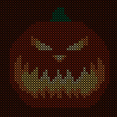knitting pattern pumpkin