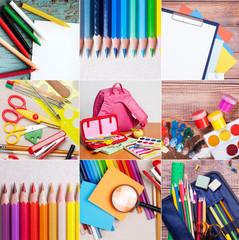 school and office supplies collection