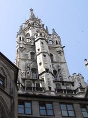 Torre dell'orologio del Municipio Nuovo di Monaco