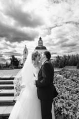 Поцелуй - свадебное фото