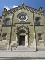 Facciata della Allerheiligen-Hofkirche