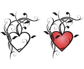 Абстрактное сердце