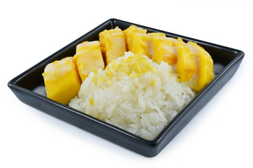 Sticky Rice Mango Thai Dessert