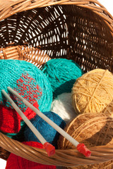 The set for knitting