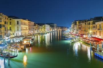 Night scene of Venice, Italy