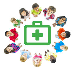 Kids With Healthcare and Medicine