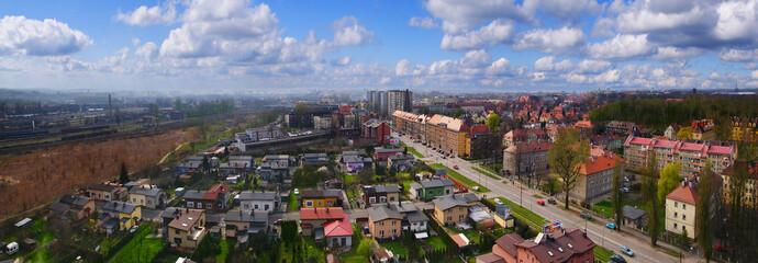 Panorama Gliwice Polska