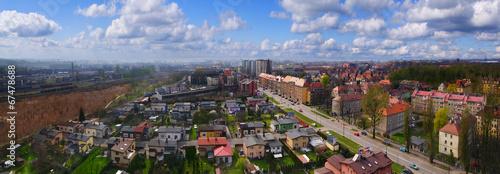 Zdjęcia na płótnie, fototapety, obrazy : Panorama Gliwice Polska